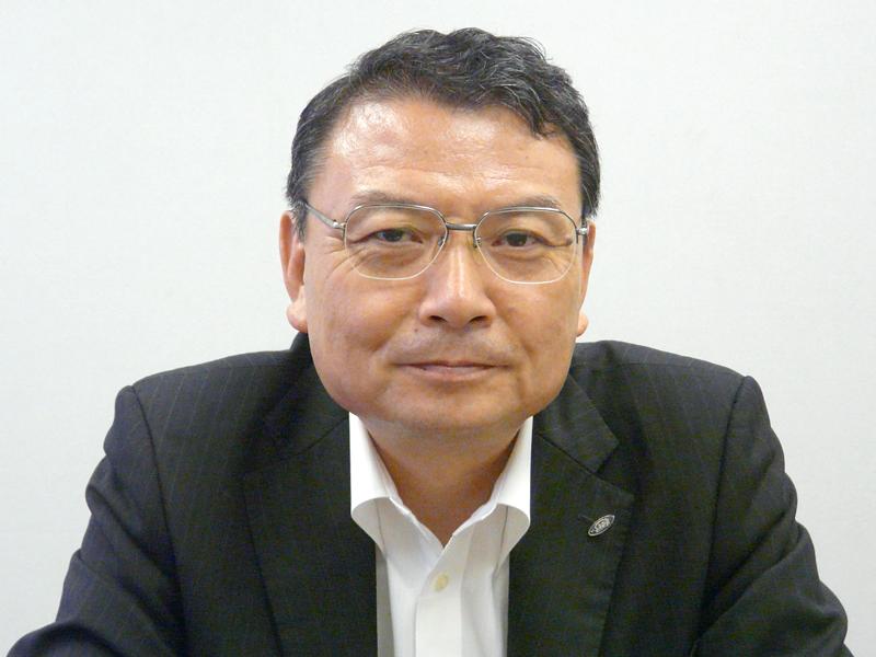 シャープ国内営業本部副本部長兼シャープエレクトロニクスマーケティング取締役社長の山田達二氏
