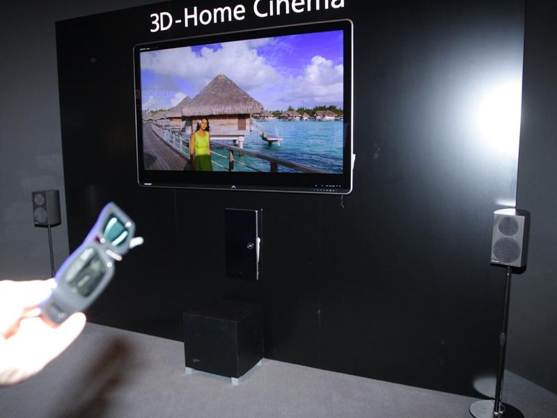 3D対応Blu-rayプレーヤーと組み合わせたシアター提案