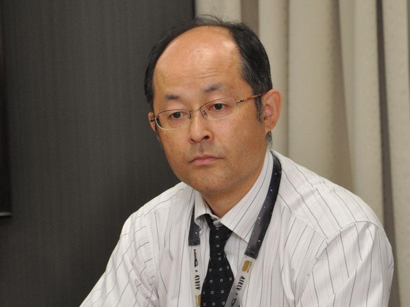 AVCネットワークス社 ホームAVビジネスユニット 商品技術センター 先行開発グループ 主幹技師 甲野和彦氏