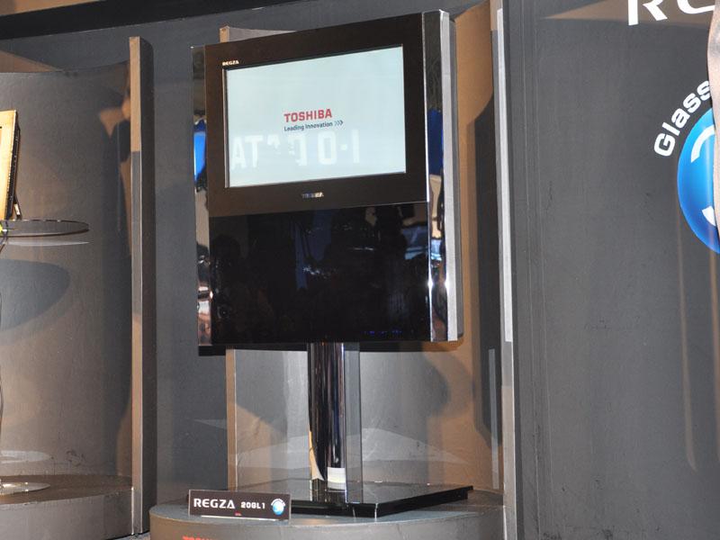 <FONT size=2>裸眼3D視聴に対応した「グラスレス3Dレグザ GL1シリーズ」の20型</FONT>