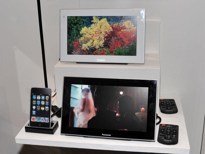 iPhone/iPod対応のデジタルフォトフレームも
