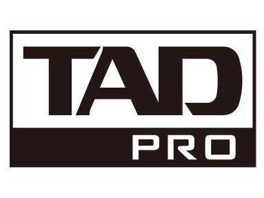 「TAD PRO」のロゴ