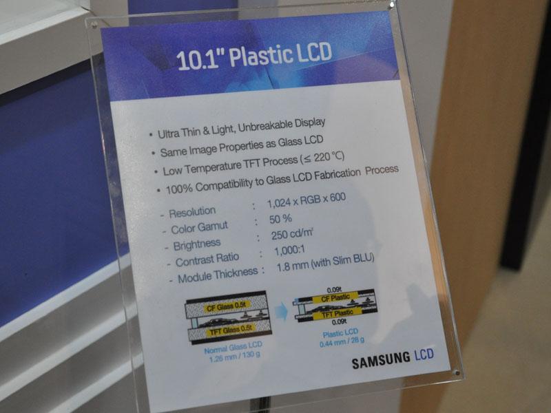 Plastic LCDの概要