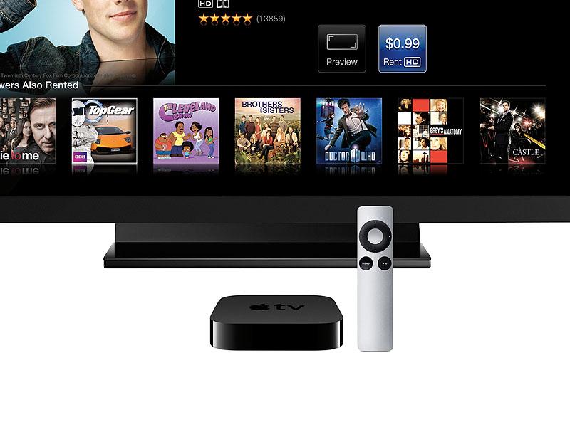 「Apple TV」の使用イメージ
