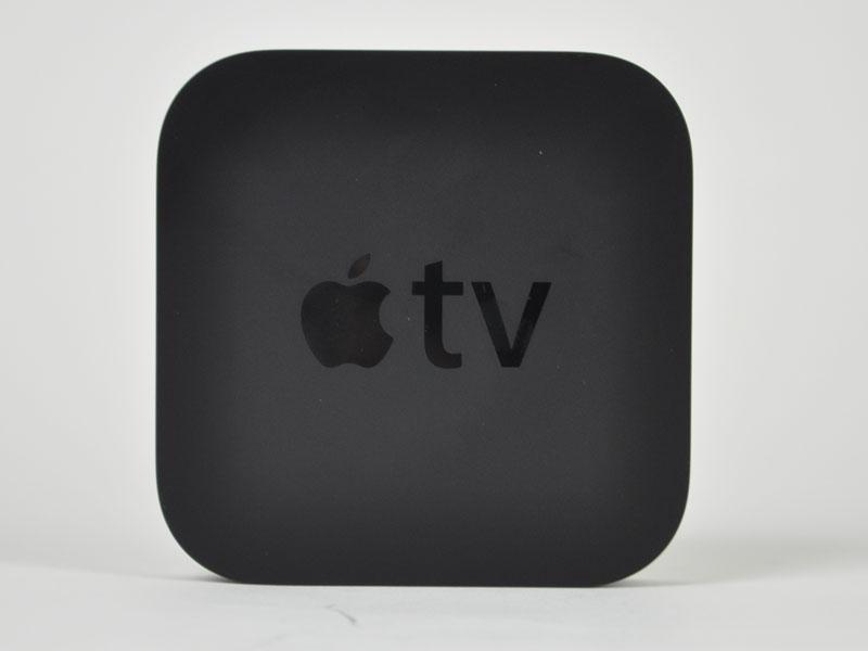 Apple TVの上面