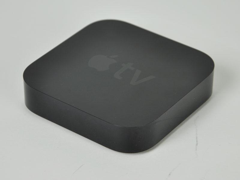Apple TV。外形寸法は98×98×23mm