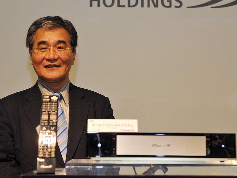 JVC・ケンウッド・ホールディングスの執行役員常務・新事業開発センター長の前田悟氏