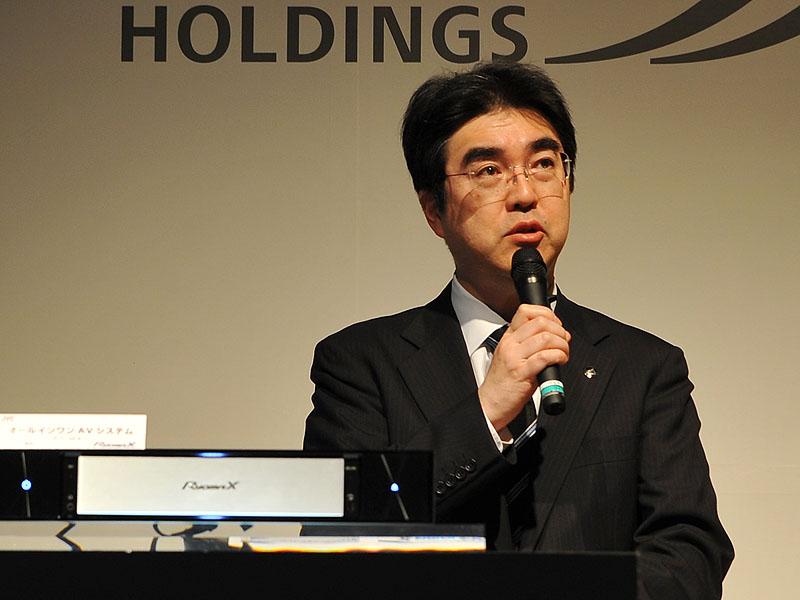 日本ビクターの伊藤祐太社長