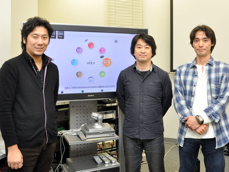 左から西沢氏、石塚氏、渋谷氏