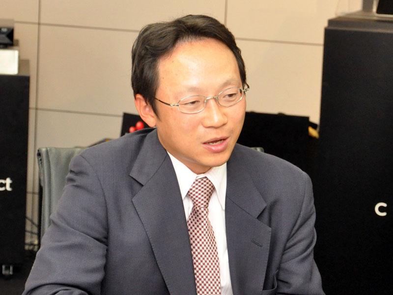 研究開発センター(RDC)マルチメディアラボラトリー 室長の伊藤氏