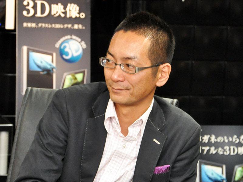 映像マーケティング事業部 グローバルマーケティング部 TV担当 参事の本村氏