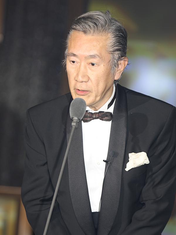 <CENTER>石坂敬一会長</CENTER>