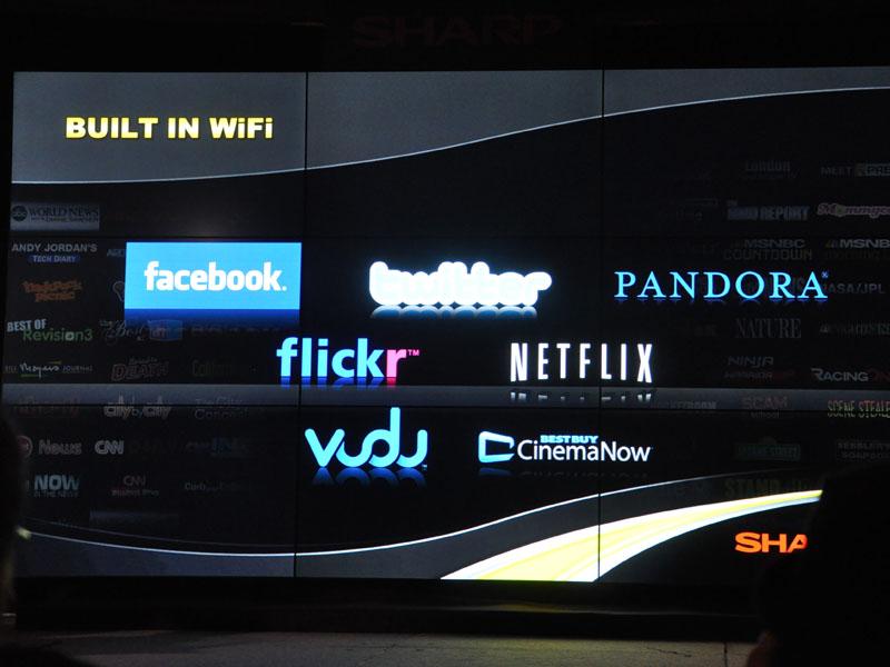 Netflixやfacebookに対応