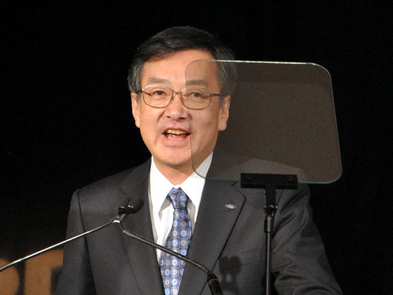 米Sharpの高橋 興三 CEO