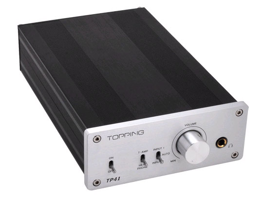 Toppingの小型・低価格デジタルアンプ「TP41」