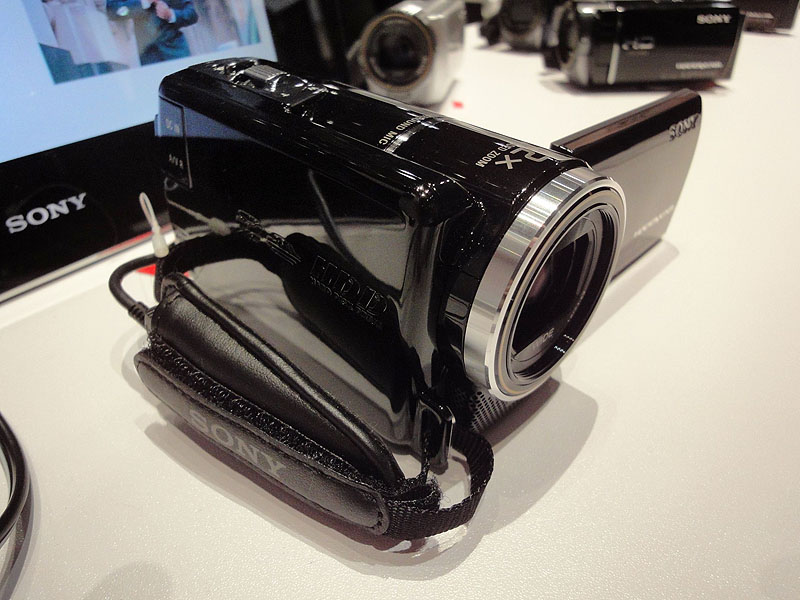 HDD搭載モデル、HDR-XR160