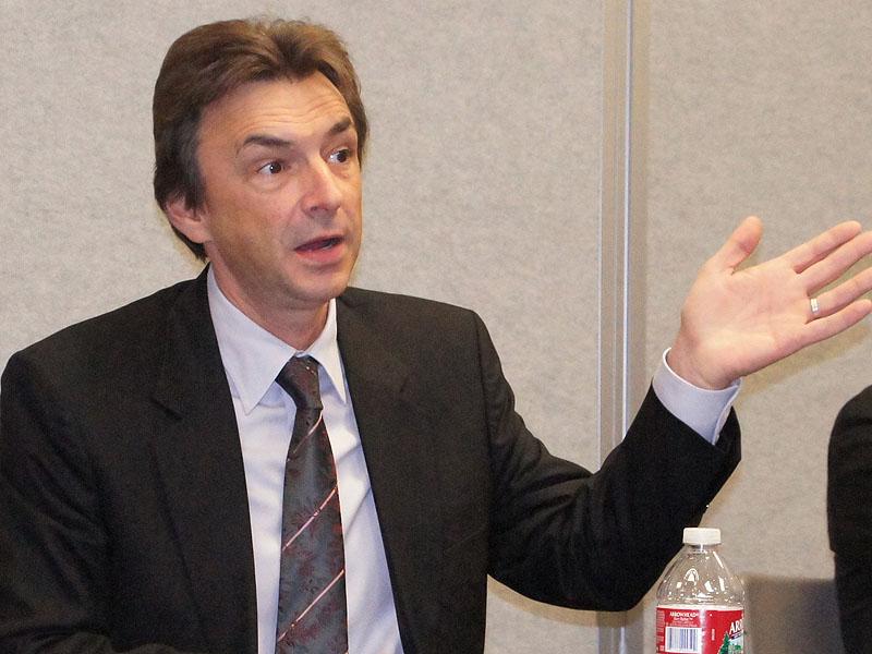 米Sony Electronics社長兼COOのPhil Molyneux(フィル・モリニュー)氏
