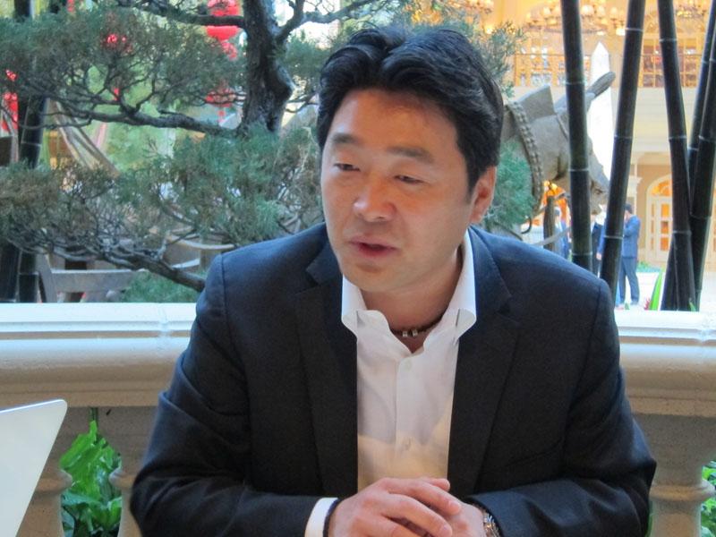 米ソニーエレクトロニクスでテレビ事業を担当する石田氏