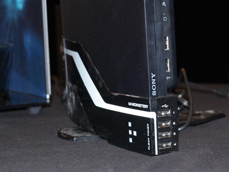PS3の電源スタンド