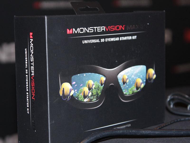 3Dメガネ「MONSTER VISION MAX 3D」