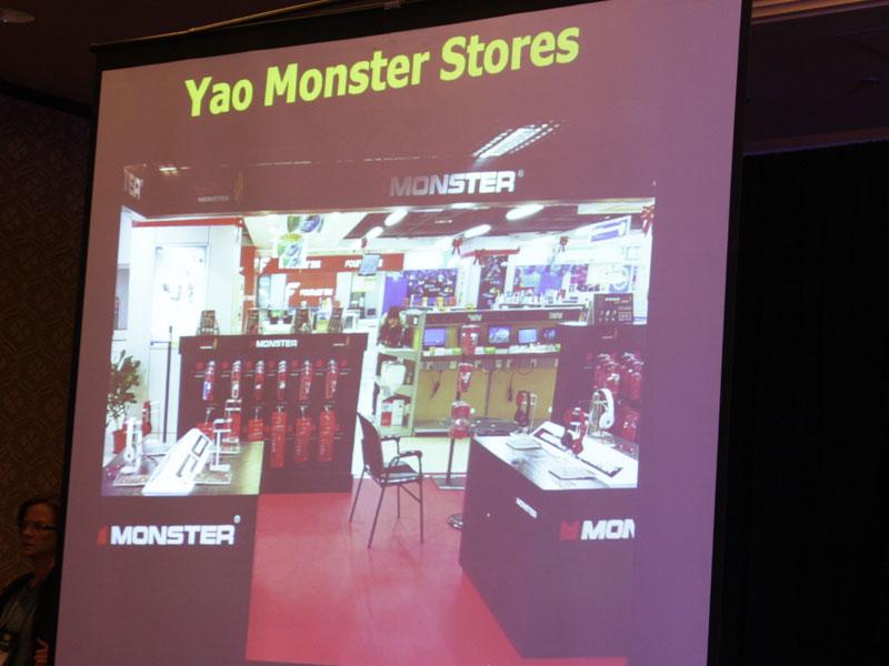 Yao Mingと協力して新ブランドを中国で展開。ヘッドフォンやHDMIケーブルなどのショップを設ける