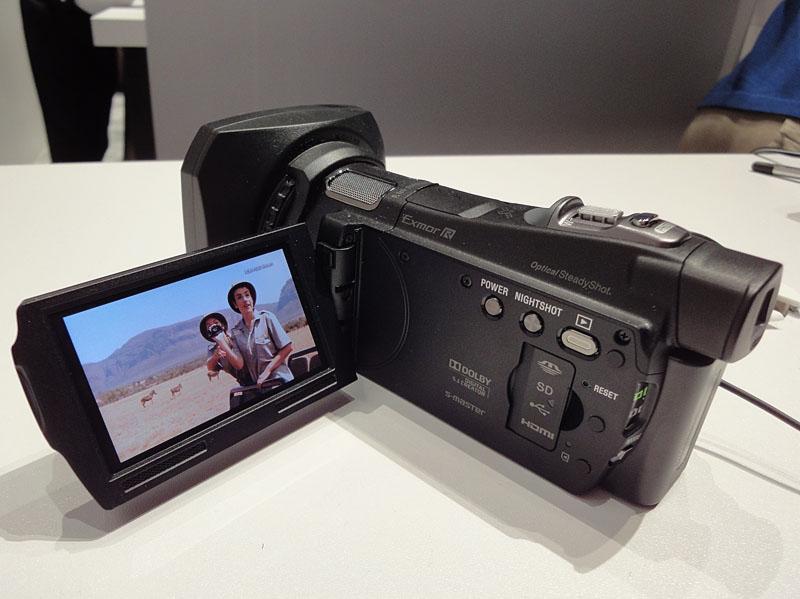ソニーも「HDR-CX700V」を筆頭に1080/60P記録に参入