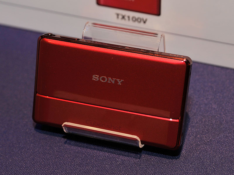 <FONT size=2>DSC-TX100V(レッド)</FONT>