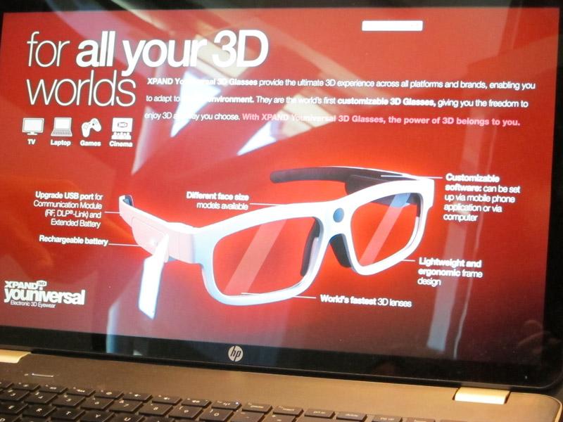 標準仕様を取り込んだ次世代のスタンダード3Dメガネの概要