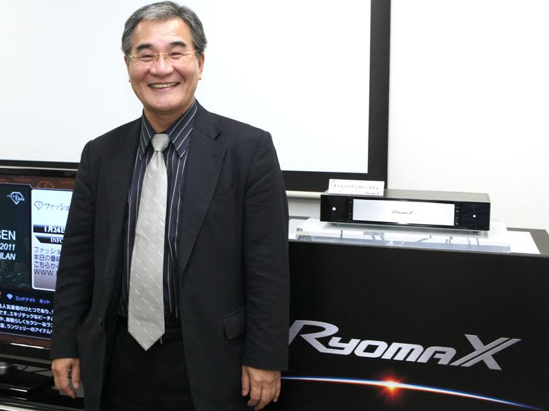 エアボード、ロケーションフリーの開発者、前田悟氏