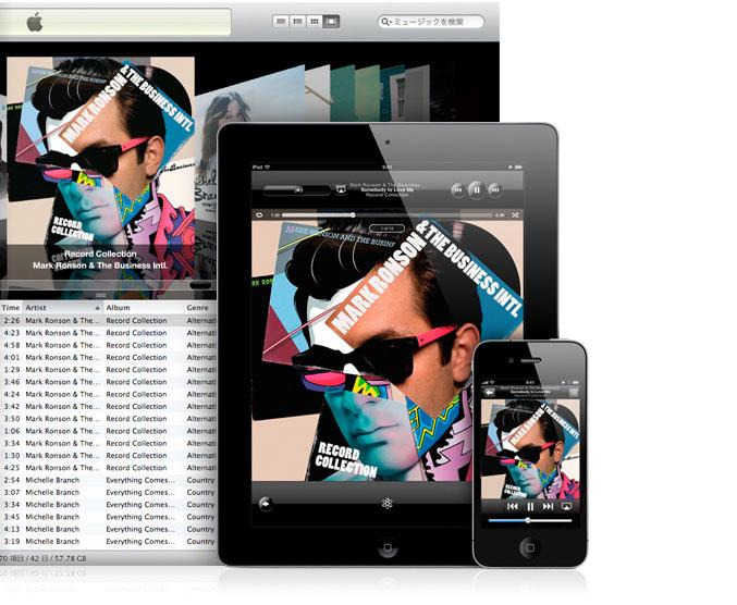 iTunesホームシェアリング