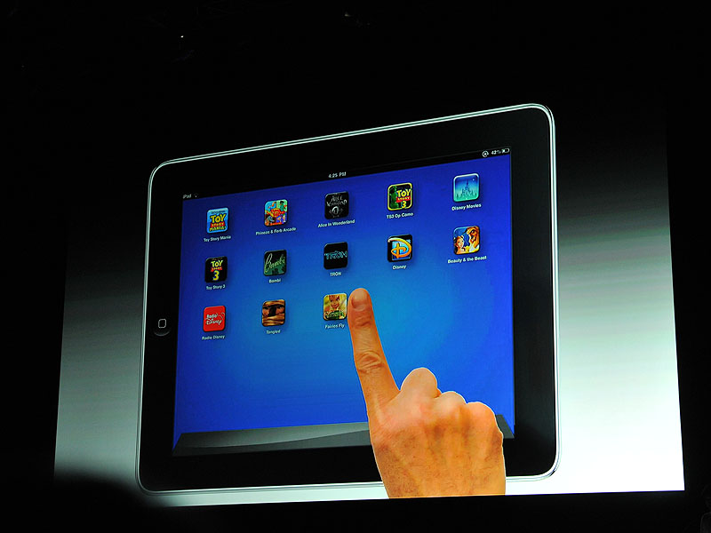 iPadに専用アプリをインストール