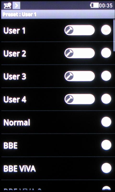 エフェクトプリセットは全部で39種類