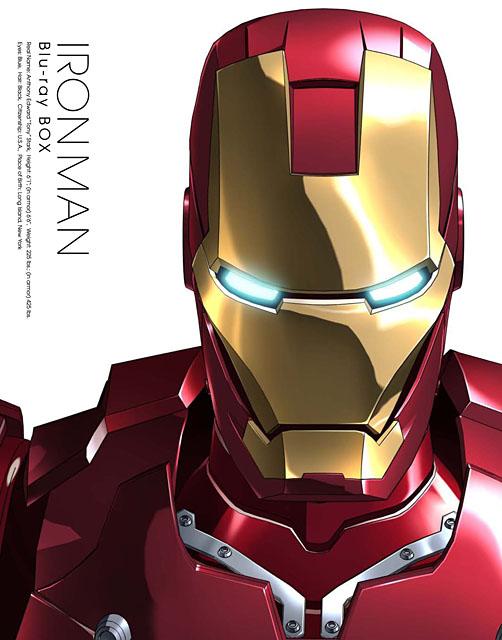 アイアンマン Blu-ray BOX(2枚組) <BR><FONT size=1>IRON MAN: TM &amp; (C) 2010 Marvel Entertainment, LLC and its subsidiaries.Animated series: (C) 2010 Superhero Anime Partners. All rights reserved.</FONT>