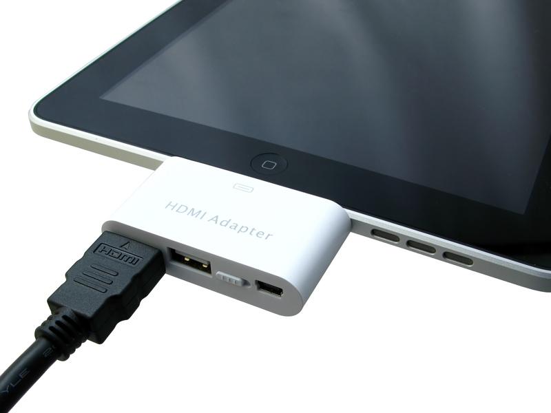 iPadとの接続時