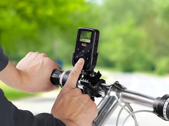 自転車への装着例