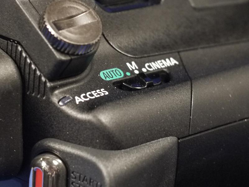 モードスイッチは3切り替え