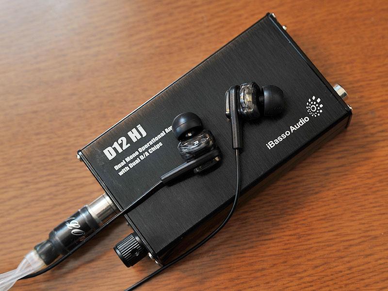 ポータブルヘッドフォンアンプのiBasso Audio D12 Hj