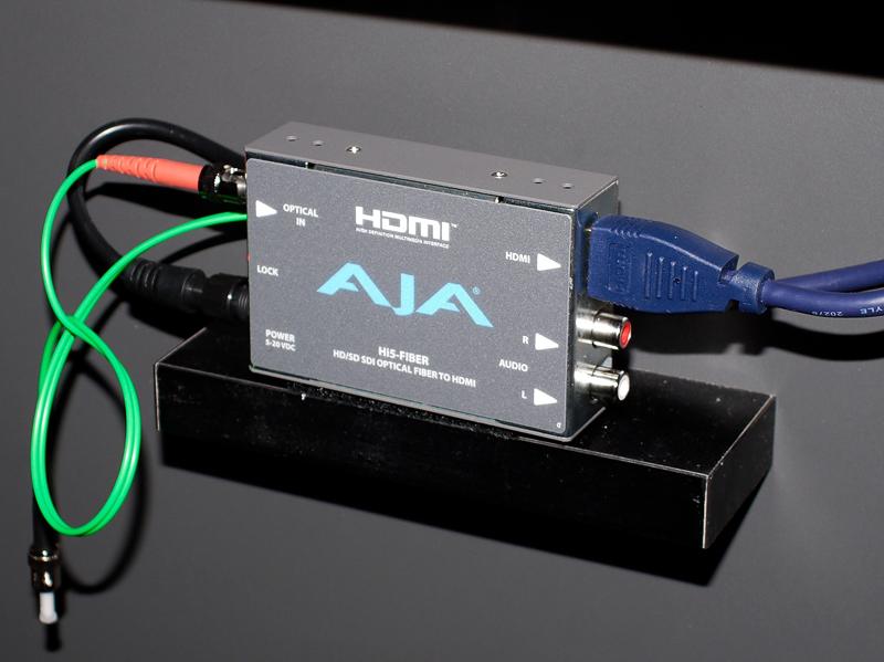 光ファイバーからダイレクトにHDMI変換する「Hi5- Fiber」