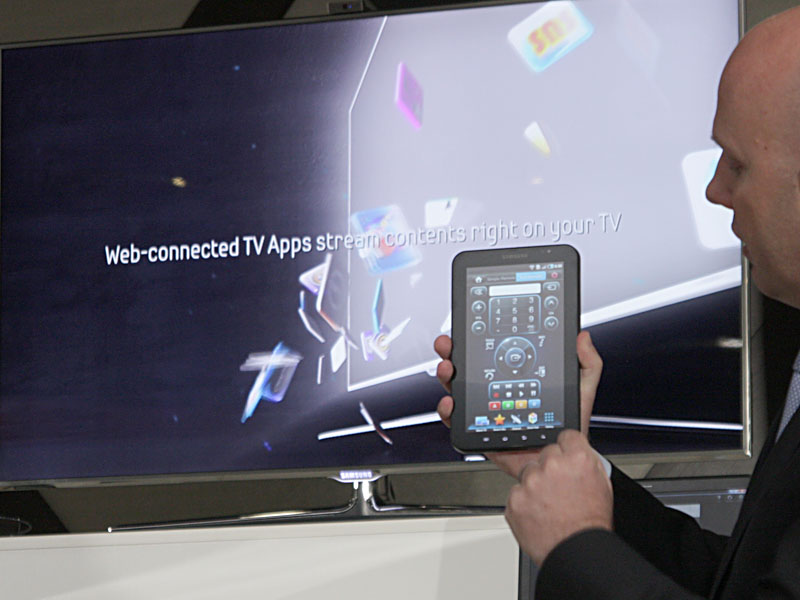 Galaxy Tabとテレビを連携