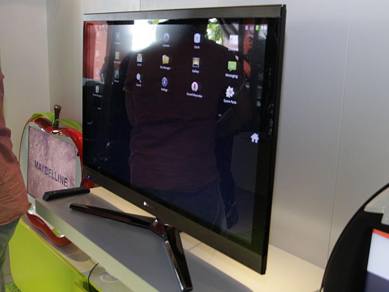テレビにNS10T3の映像を出力
