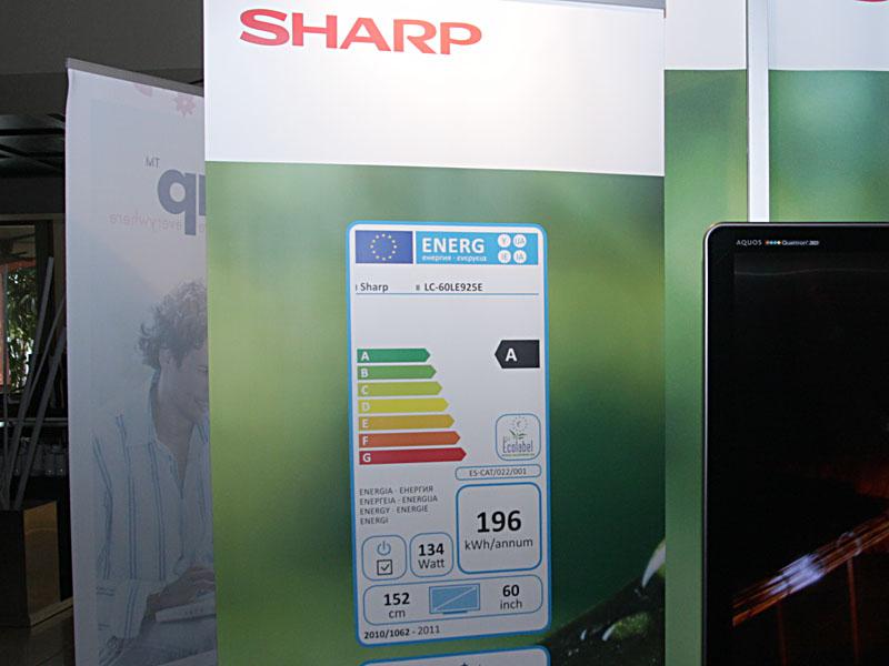 欧州で義務化される「Energy label」の表示も