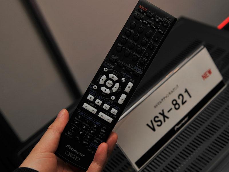 VSX-821の付属リモコン