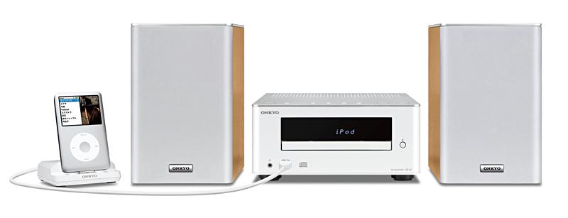 ホワイトモデル(iPod classic接続時)