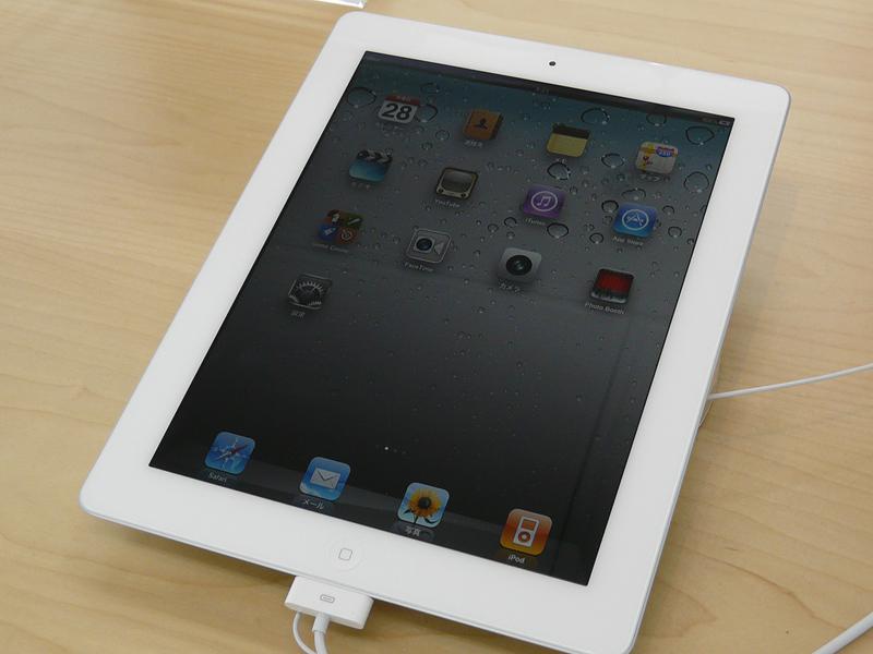 iPad 2のホワイト
