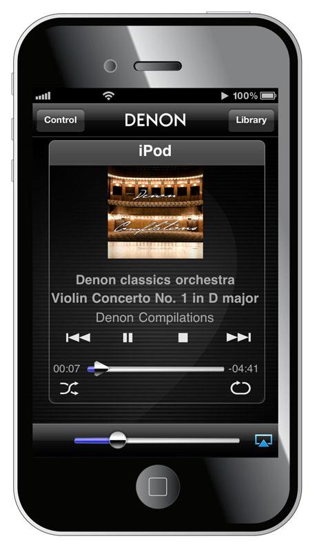 Denon Remote Appで操作
