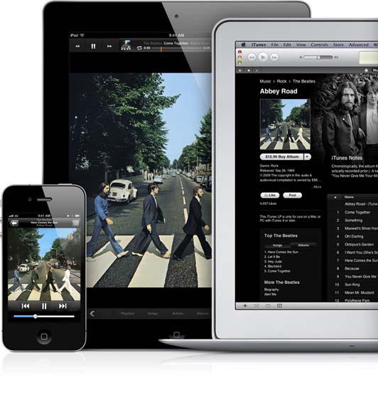 音楽、写真、ドキュメントなどさまざまなコンテンツを複数デバイス間で自動同期する