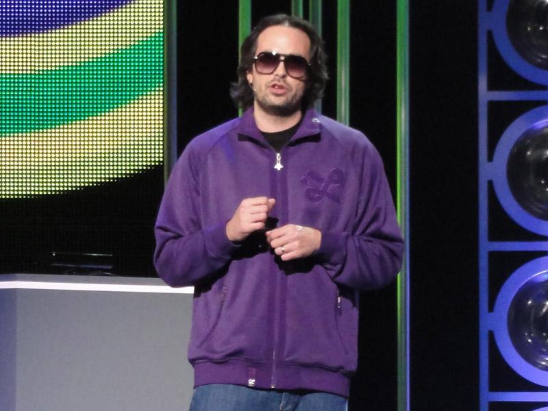 米Microsoft Game Studio ジェネラルマネージャー兼クリエイティブ・ディレクターで、Kinect開発責任者のクドー・ツノダ氏(撮影は2010年のE3)