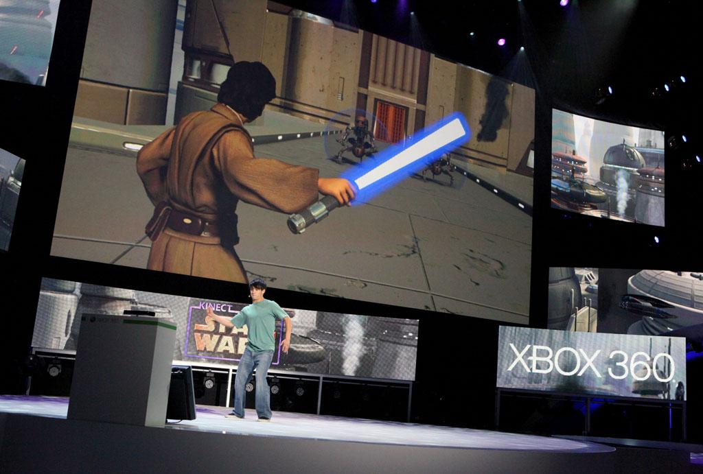 Kinectを大々的にアピール