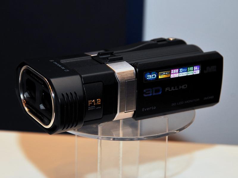 3Dビデオカメラ「GS-TD1」