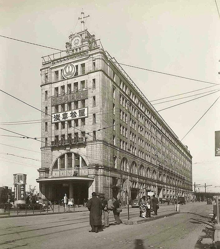 昭和6年建設当時の浅草駅ビル
